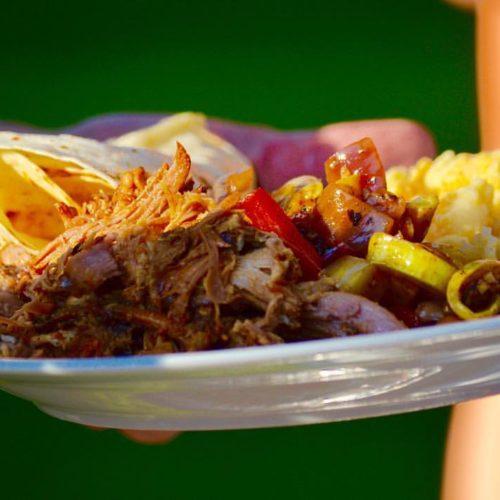 Fresno Food Truck BBQ Plate